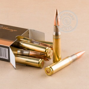 A photo of a box of PMC ammo in .50 BMG.