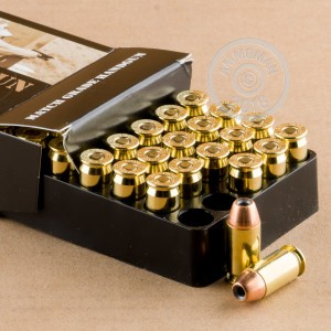 An image of .45 Automatic ammo made by Nosler Ammunition at AmmoMan.com.
