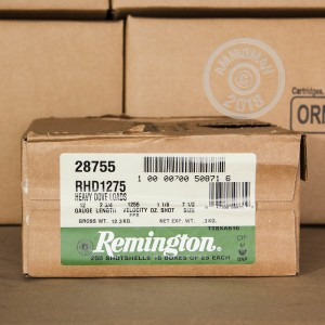 Great ammo for upland bird hunting, these Remington rounds are for sale now at AmmoMan.com.