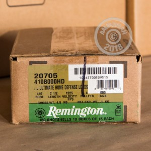 Photo of Remington ammo for 410 BUCKSHOT for sale at AmmoMan.com.