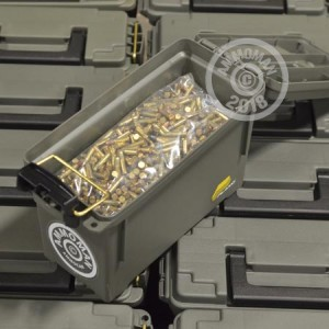 Image of bulk .22 Long Rifle rimfire ammo at AmmoMan.com that's perfect for training at the range.