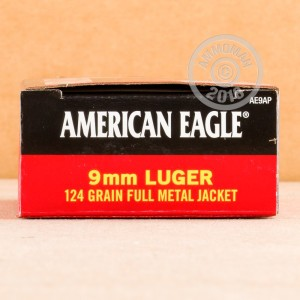 Image of 9mm Luger ammo by Federal that's ideal for shooting indoors, training at the range.