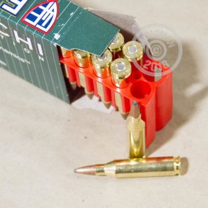 An image of 243 Winchester ammo made by Fiocchi at AmmoMan.com.