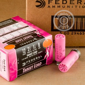 Photograph of Federal 12 Gauge #8 shot for sale at AmmoMan.com