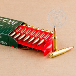 Photo of 308 / 7.62x51 Soft-Point Boat Tail (SP-BT) ammo by Fiocchi for sale.