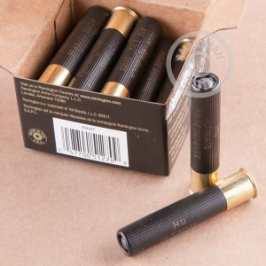 Image showing the Remington shotgun ammo that's ideal for hunting or home defense.