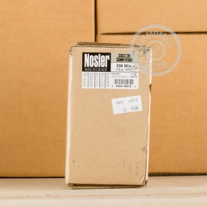 Photo of 308 / 7.62x51 Hollow-Point Boat Tail (HP-BT) ammo by Nosler Ammunition for sale.