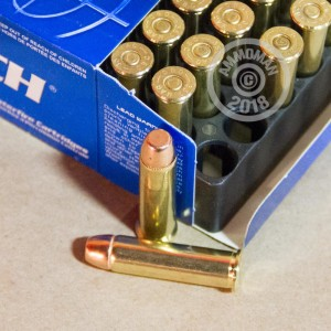 Image of 357 Magnum ammo by Magtech that's ideal for training at the range.