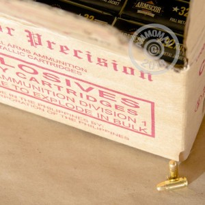 Image of .32 ACP pistol ammunition at AmmoMan.com.