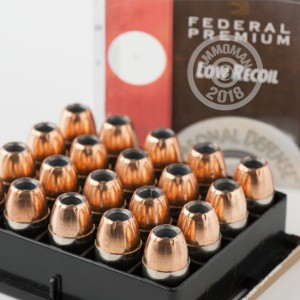Image of Federal .45 GAP pistol ammunition.