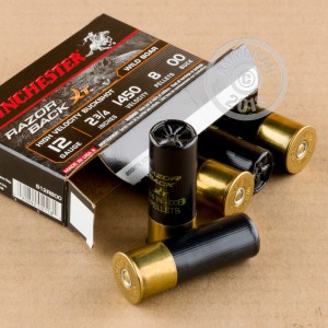 rounds ideal for hunting wild pigs, hunting or home defense.