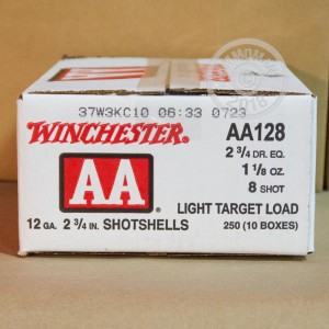 #8 shot shotgun rounds for sale at AmmoMan.com - 250 rounds.