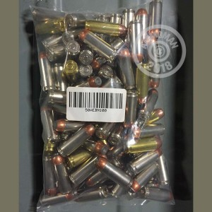 A photo of a box of Mixed ammo in 50 Action Express.