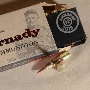 A photograph detailing the 6.5 Grendel ammo with SST bullets made by Hornady.