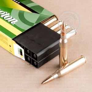 An image of 338 Lapua Magnum ammo made by Remington at AmmoMan.com.