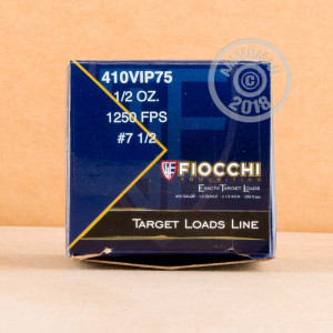 Photograph of Fiocchi 410 Bore #7.5 shot for sale at AmmoMan.com