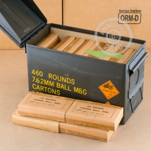 Photo of 308 / 7.62x51 FMJ ammo by PMC for sale.