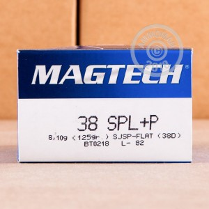 An image of 38 Special ammo made by Magtech at AmmoMan.com.