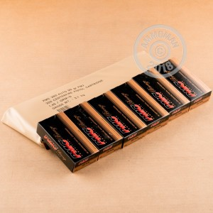 A photograph of 300 rounds of 90 grain .380 Auto ammo with a FMJ bullet for sale.