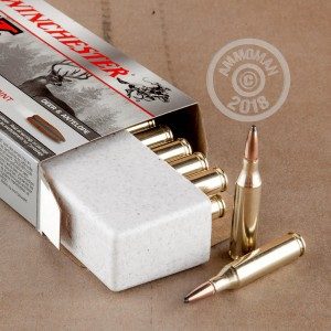 Image of Winchester 243 Winchester rifle ammunition.