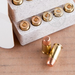 An image of .380 Auto ammo made by Winchester at AmmoMan.com.
