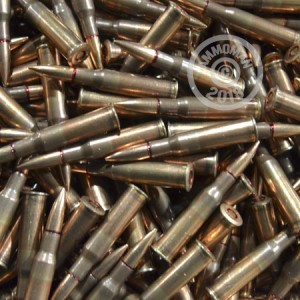 A photograph of 375 rounds of Not Applicable 7.62 x 54R ammo with a Unknown bullet for sale.