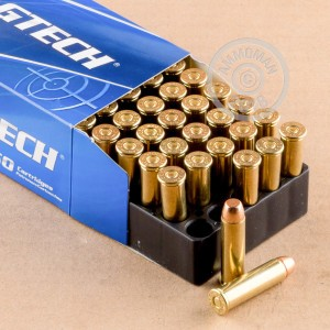 A photo of a box of Magtech ammo in 357 Magnum.