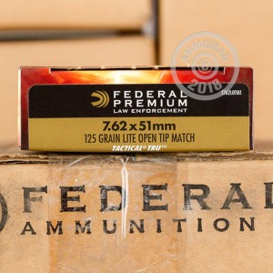 Photo of 308 / 7.62x51 Open Tip Match ammo by Federal for sale.