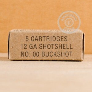 rounds ideal for hunting or home defense.