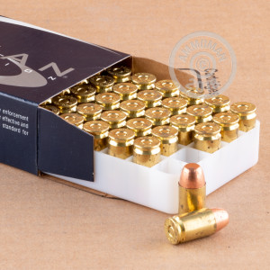 A photograph of 1000 rounds of 185 grain .45 GAP ammo with a TMJ bullet for sale.