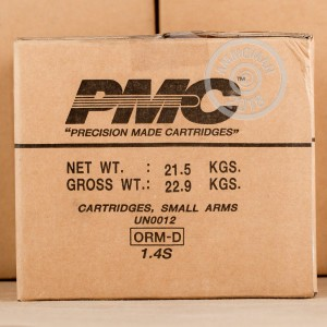 An image of .45 Automatic ammo made by PMC at AmmoMan.com.