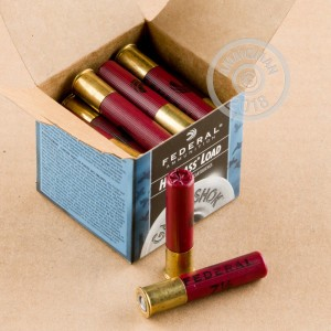 Photograph of Federal 410 BUCKSHOT #7.5 shot for sale at AmmoMan.com