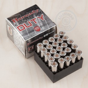 Photo of 357 Magnum JHP ammo by Hornady for sale at AmmoMan.com.