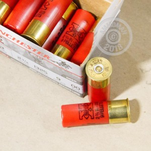 Photo of Winchester shotgun ammo in 12 Gauge.