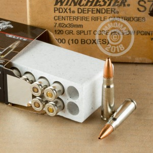 Photo of 7.62 x 39 HP ammo by Winchester for sale.