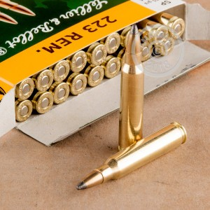 Image of 223 Remington rifle ammunition at AmmoMan.com.
