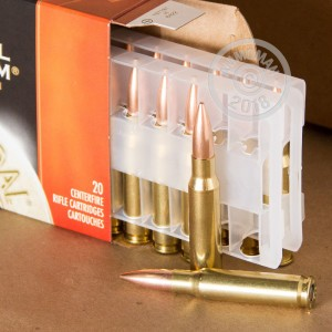 Photo of 308 / 7.62x51 Hollow-Point Boat Tail (HP-BT) ammo by Federal for sale.