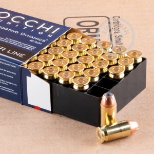 An image of .45 Automatic ammo made by Fiocchi at AmmoMan.com.