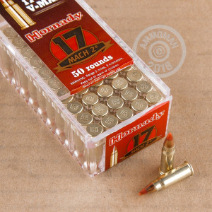 17 HM2 (Mach 2) ammo for sale at AmmoMan.com - 500 rounds.
