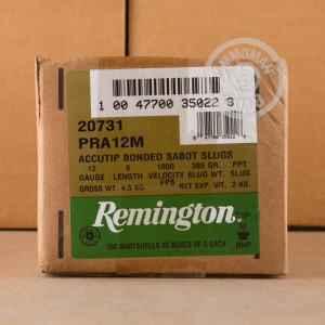 Photograph of Remington 12 Gauge Sabot Slug for sale at AmmoMan.com