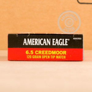A photo of a box of Federal ammo in 6.5MM CREEDMOOR.