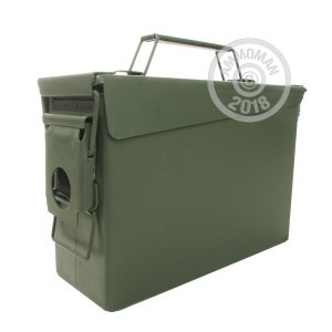 Image of 30 CAL MIL SPEC AMMO CAN BRAND NEW GREEN M19 (16)
