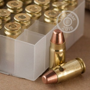 A photograph of 1000 rounds of 124 grain 357 SIG ammo with a FMJ bullet for sale.