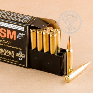 An image of 308 Norma ammo made by HSM Ammunition at AmmoMan.com.