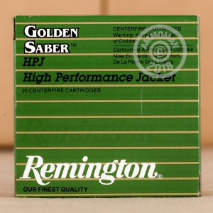 Image of Remington 9mm Luger pistol ammunition.