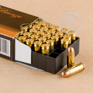 A photo of a box of PMC ammo in 38 Super.
