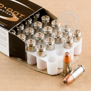 A photo of a box of Speer ammo in 9mm Luger.