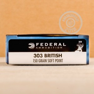 An image of 303 British ammo made by Federal at AmmoMan.com.