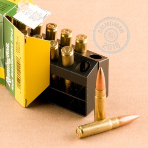 An image of 300 AAC Blackout ammo made by Remington at AmmoMan.com.