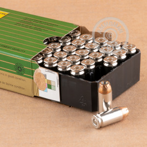 An image of .40 Smith & Wesson ammo made by Remington at AmmoMan.com.